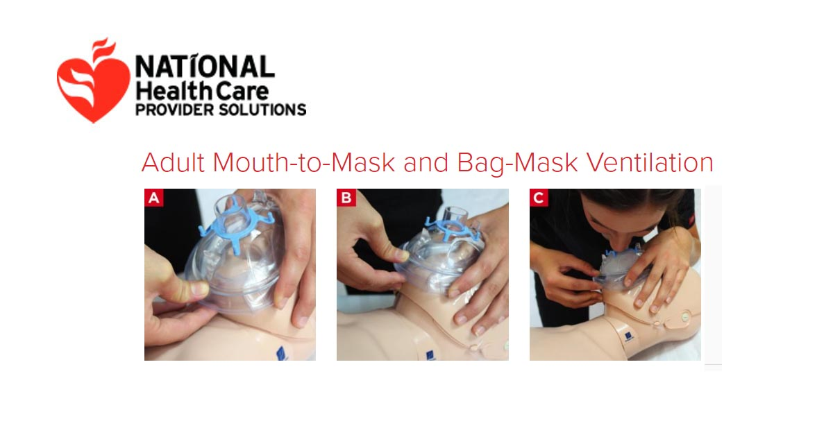 Mouth To Mask And Bag Ventilation